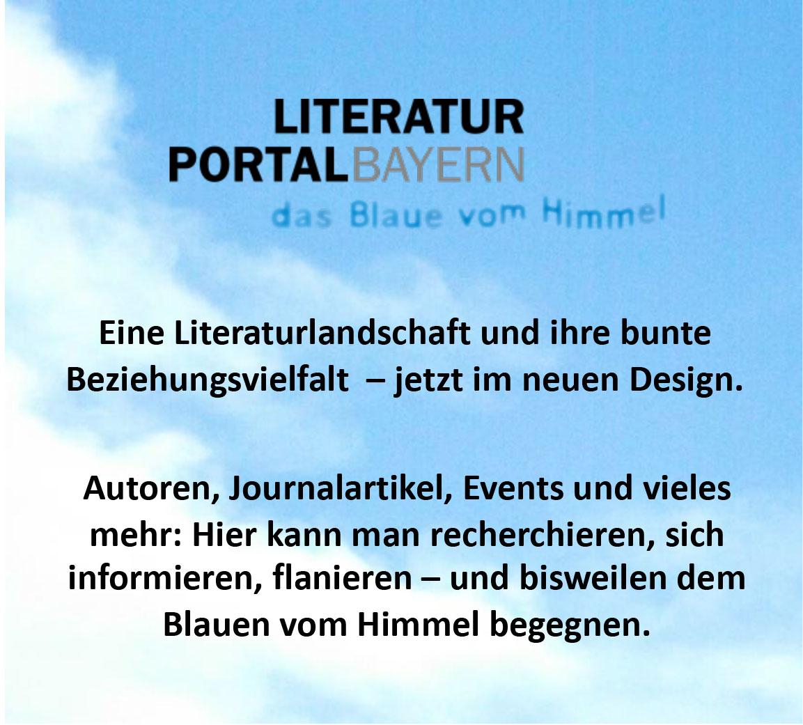 Literatur Portal Bayern
